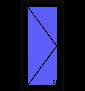 Aluminium Single Hinged Door