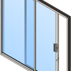 Aluminium Patio Sliding Door