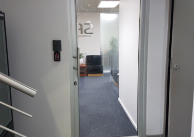 Hinged Door Natural Clear Glass