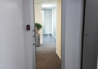Single Hinged Aluminium Door