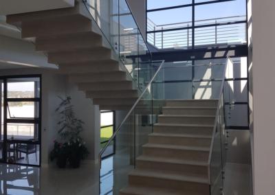 Staircase Glass Balustrade 1