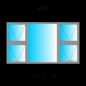Aluminium Top Hung Windows