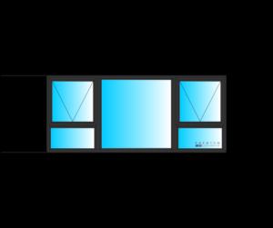 Top Hung Aluminium window
