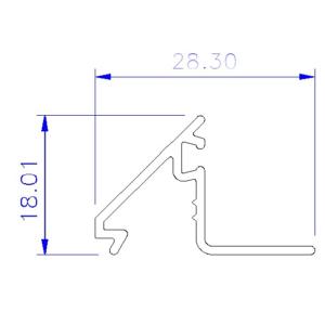 Casement 30 5 Aluminium Profile Sections