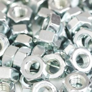 8mm Galvinised Hex Nut