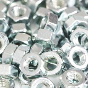 8mm Galvinised Hex Nut
