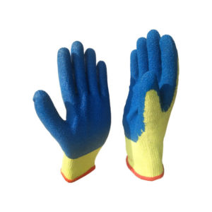 Glass Cutting Protection Gloves blue