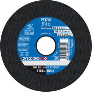 Disc Cutting steel 115mm x 1mm