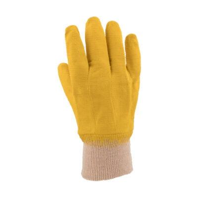 Rubber-Comarex-Yellow-Knit-Wrist