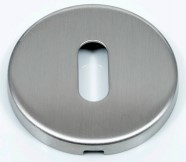 Keyhole Escutcheon Brushed Stainless